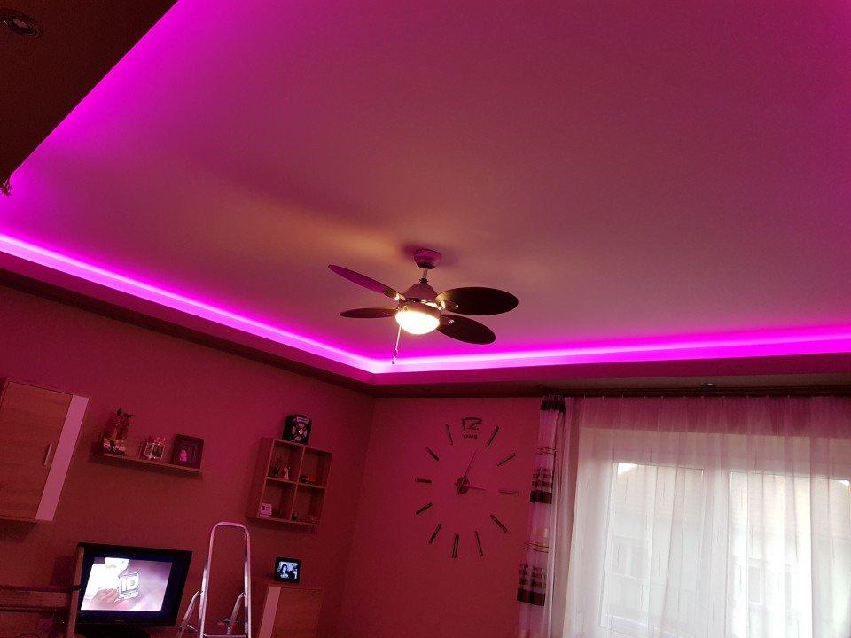 Led világítás szobába