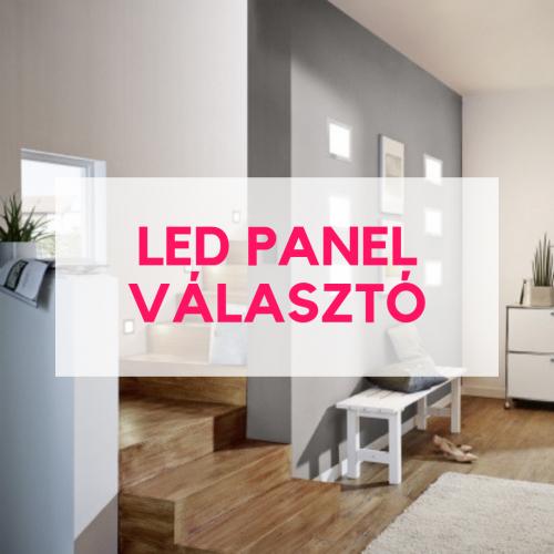 led panel választó
