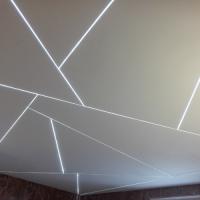 LED szalag álmennyezetben