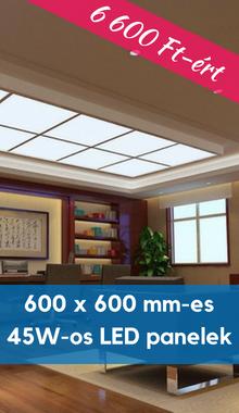 45 wattos LED panelek