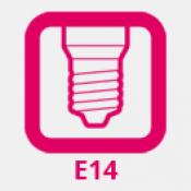 E14 foglalat (mignon)