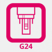 G24 foglalat