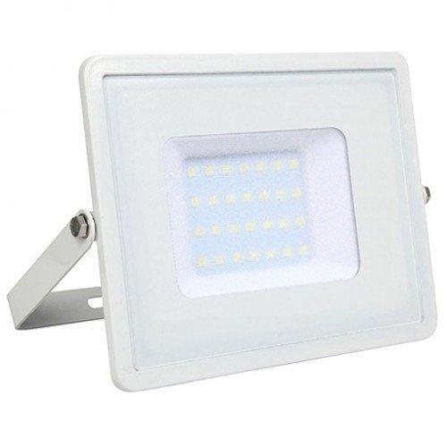 LED reflektor , 10 Watt , Ultra Slim , meleg fehér , SAMSUNG chip , 5 év garancia , fehér