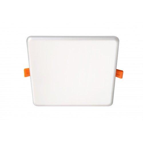 LED panel , 11W , KERETMENTES , süllyesztett , négyzet , természetes fehér , vízvédett , IP66