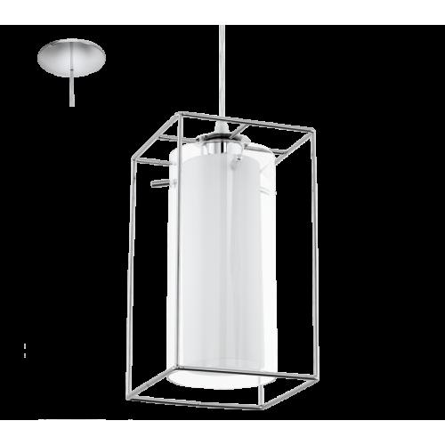 LED lámpa függeszték , mennyezeti , E27 , króm , EGLO , LONCINO , 94377