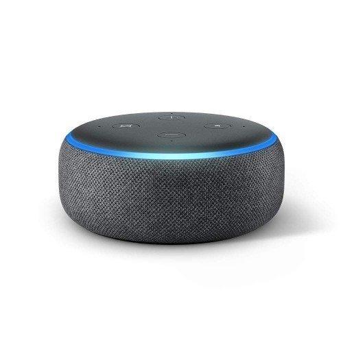 Amazon Echo Dot , 3. generációs , fekete