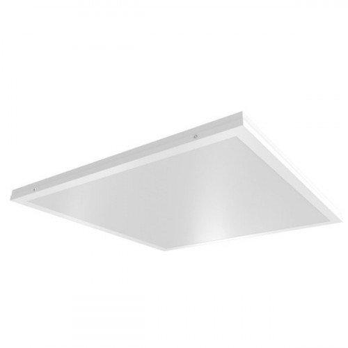 LED panel , 600 x 600 mm , 70 Watt , süllyesztett/falon kívüli , 2in1 , univerzális , természetes fehér