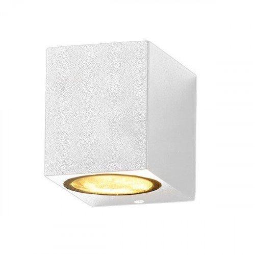 LED lámpatest , GU10 , oldalfali , 1 irányú , fehér , kültéri , IP44