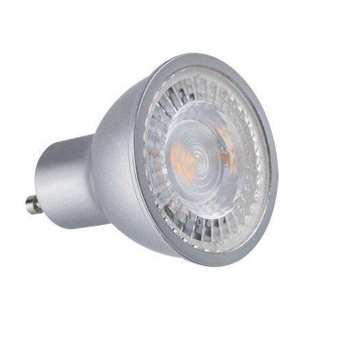 LED lámpa , égő , szpot , GU10 foglalat , PRO , 120° , 7 Watt , természetes fehér