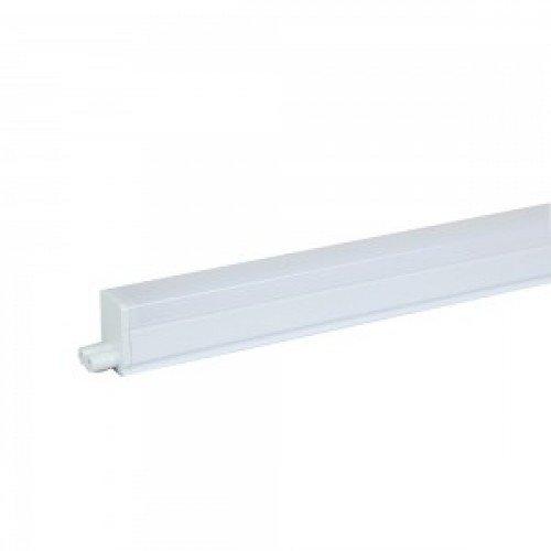 LED fénycső , T5 , 16W , 120 cm , sorolható , kapcsolóval , kompakt armatúrával együtt , Samsung Chip , hideg fehér , 5 év garancia