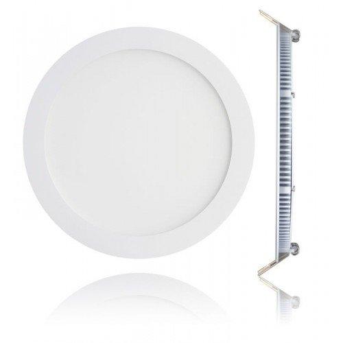 LED panel , 18W , süllyesztett , kerek , dimmelhető , állítható fehér színárnyalat , CCT