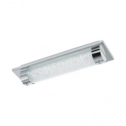 LED lámpatest , mennyezeti , 8 Watt , természetes fehér , króm , IP44 , EGLO , TOLORICO , 97054