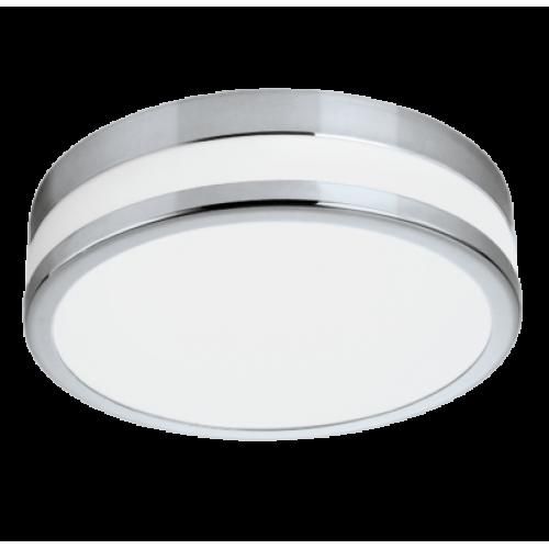 LED lámpatest , mennyezeti/fali , 24 Watt , meleg fehér , króm , IP44 , EGLO , LED PALERMO , 94999