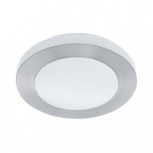 LED lámpatest , mennyezeti , 11 Watt , meleg fehér , matt nikkel , IP44 , EGLO , CARPI , 94967