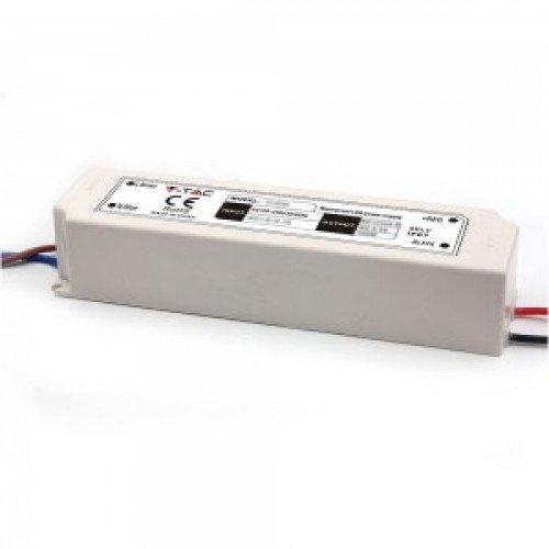 LED tápegység , 12 Volt , 100 Watt , 8,5A , kültéri , vízálló , slim , IP67 , 5 év garancia
