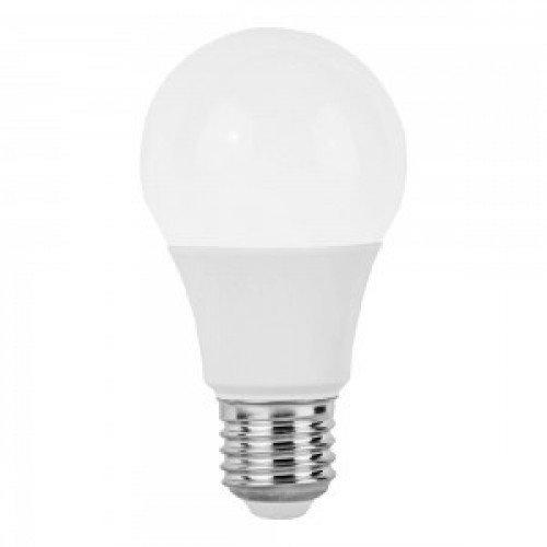 LED lámpa , égő , körte ,  E27 foglalat , 9 Watt , természetes fehér