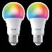 LED lámpa , égő , INNR , 2 x E27 , 2 x 9.5 Watt , RGB , CCT , dimmelhető , Philips Hue kompatibilis