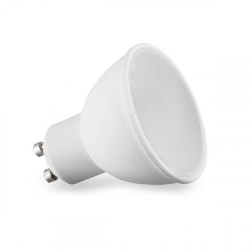 LED lámpa , égő , szpot , GU10 foglalat , 110° , 5 Watt , természetes fehér , Optonica