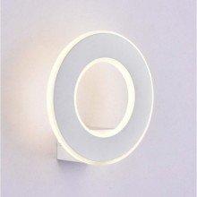 LED lámpatest , falikar , 9 Watt , kerek ,  meleg fehér, fehér