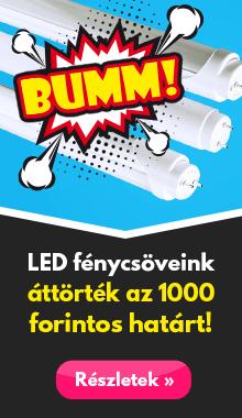 LED fénycsövek 1000 Forint alatt