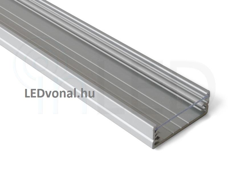 ledvonal aluminium u profil led rg p. Black Bedroom Furniture Sets. Home Design Ideas